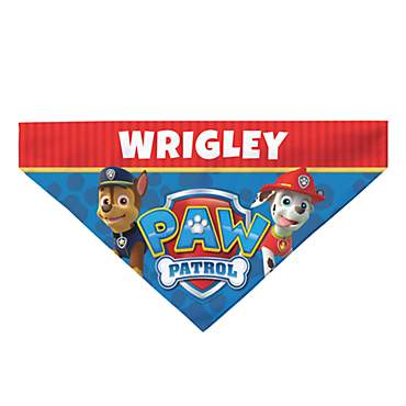 Custom Personalization Solutions Paw Patrol To The Rescue Pet Bandana Collar Cover
