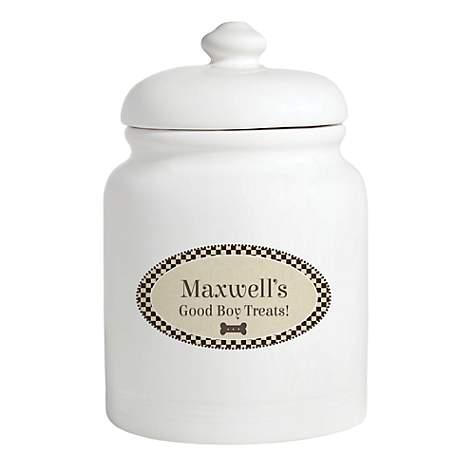 abdad7590a3c Custom Personalization Solutions Personalized Good Boy Treat Jar   Petco