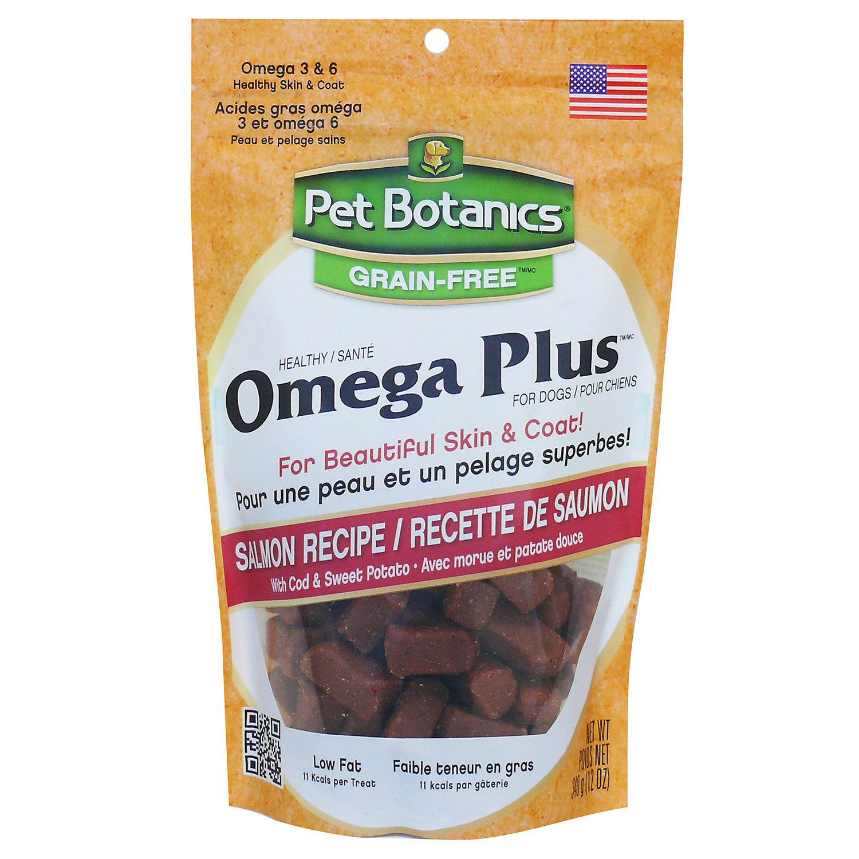 Image of Pet Botanics Grain Free Healthy Omega Plus Salmon Flavor Dog Treats