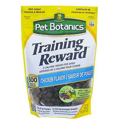 Pet Botanics Training Reward Chicken Flavor Dog Treats