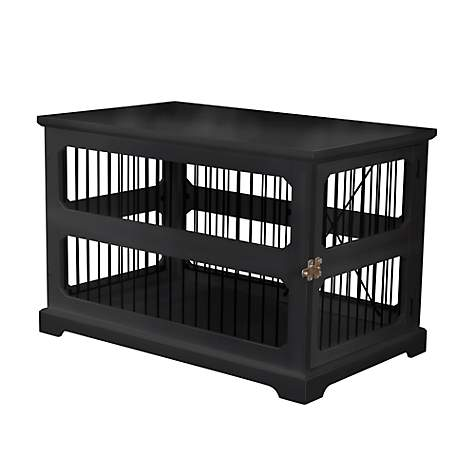 Merry Products Slide Aside Crate And End Table In Black