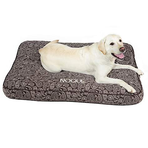 Doctors Foster + Smith Personalized Ultimate Classic Brown Paisley Dog Beds