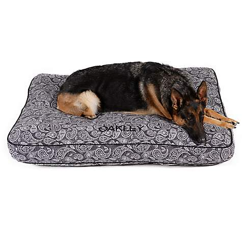 Doctors Foster + Smith Personalized Ultimate Classic Gray Paisley Dog Beds