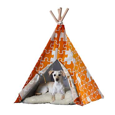 Merry Product Pet Teepee Orange Puzzle
