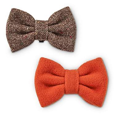 Heritage Pets Tweed and Felt Dog Bowtie Set