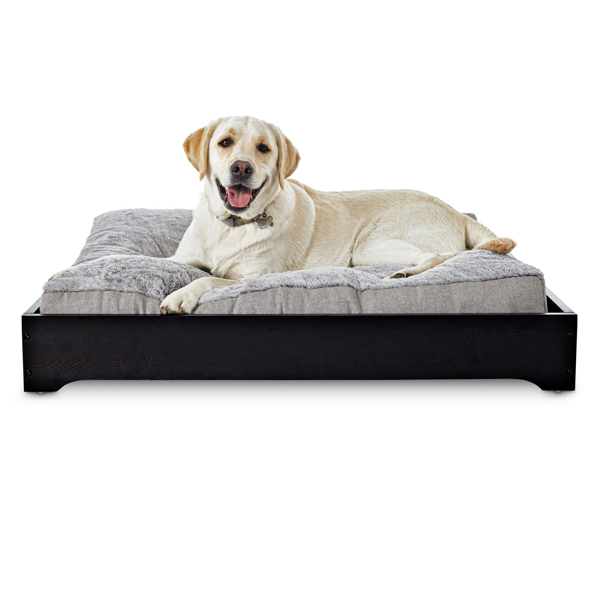 Harmony Urban Luxe Chocolate Memory Foam Sleeper Dog Beds