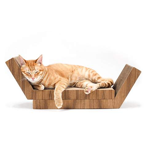 Katris Lynks 2 Piece Scratching Lounge For Cats