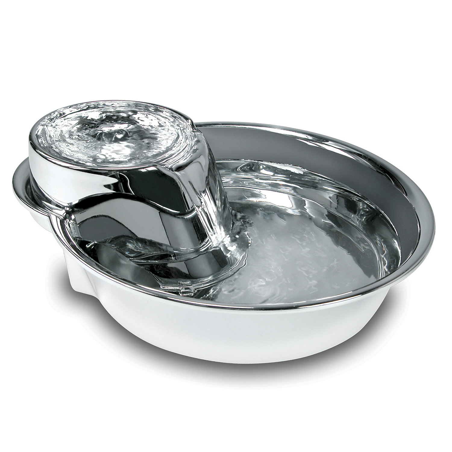 Image of Pioneer Pet Big Max Stainless Steel Pet Fountain for Dog