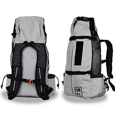 K9 Sport Sack Air Forward Facing Backpack Light Grey Dog Carrier
