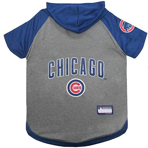 newest 11ff7 36513 Pets First Chicago Cubs Dog Hoodie Tee, X-Small