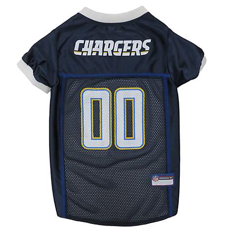 Pets First Los Angeles Chargers Mesh Jersey
