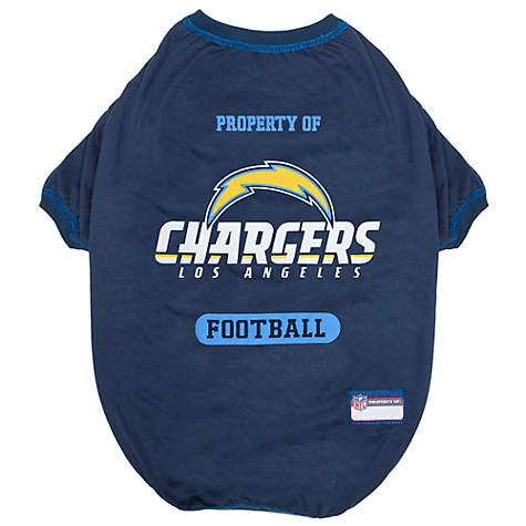 0b02e78c Pets First Los Angeles Chargers Tee Shirt, X-Small