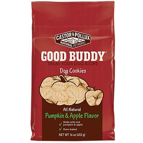 Castor & Pollux Pumpkin & Apple Flavor Cookies Dog Treats
