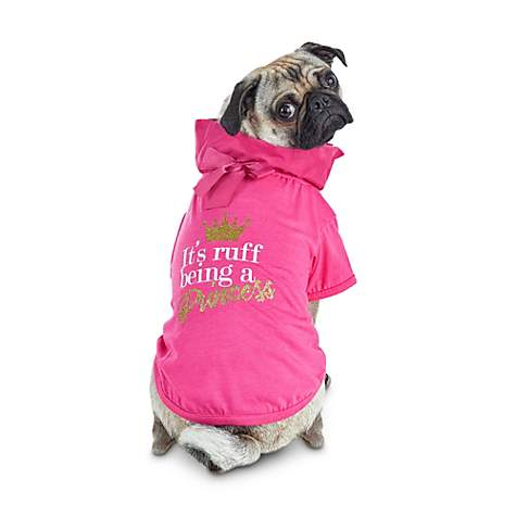 Bond & Co. It's Ruff Being A Princess Graphic Dog T-Shirt