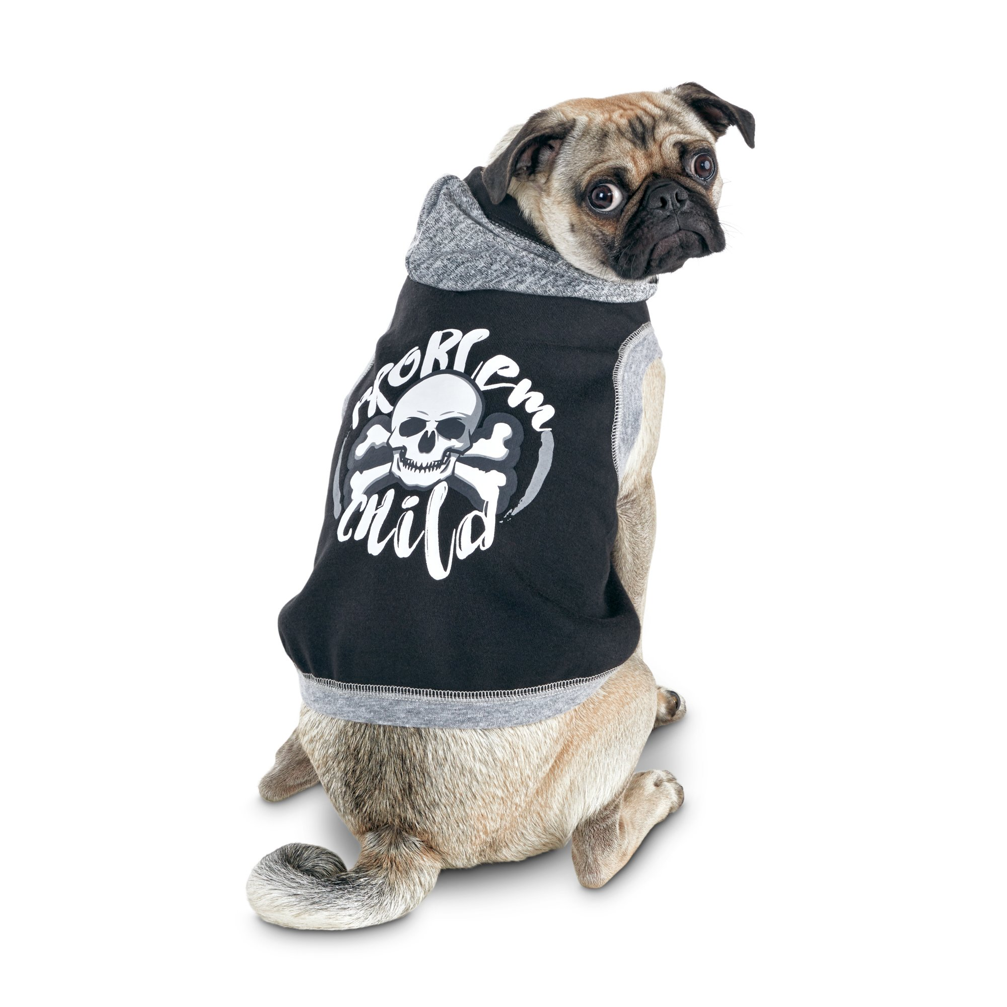 Bond   Co. Problem Child Graphic Dog Hoodie  3af938d1a