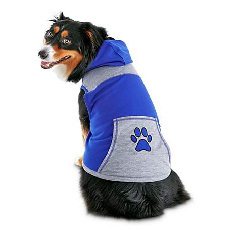 Bond & Co. Blue Paw Dog Hoodie