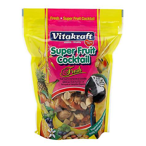 Vitakraft Super Fruit Cocktail Parrot & Cockatiel Treat