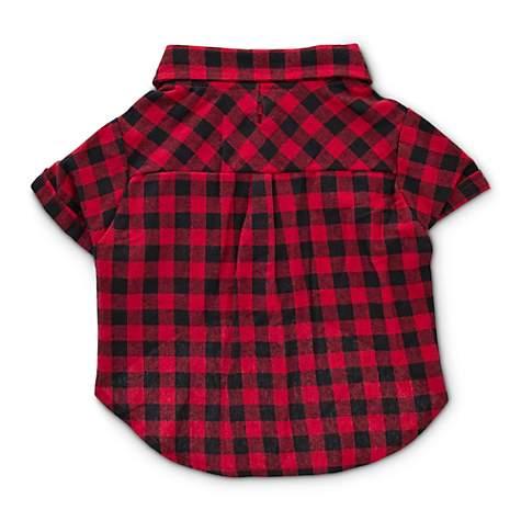 Bond   Co. Brushed Buffalo Check Flannel Dog Shirt  a3371bd37