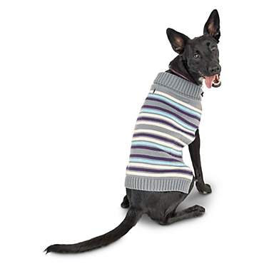 Bond & Co. Striped Knit Dog Sweater