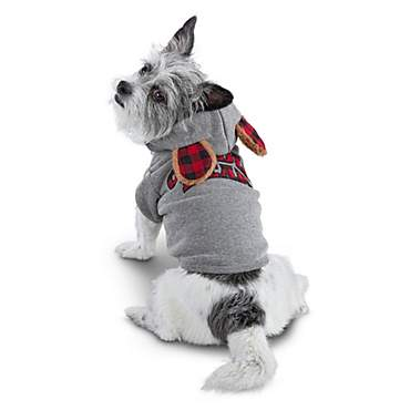 Bond & Co. Cuddle Bear Patchwork Dog Hoodie
