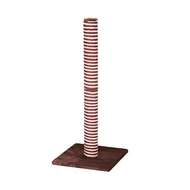PetPals Group Candlelight Burgundy And Sisal Scratching Post