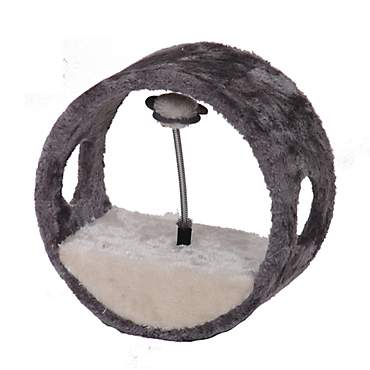 PetPals Group Vortex-M Grey Ring Teasing Balls Toy