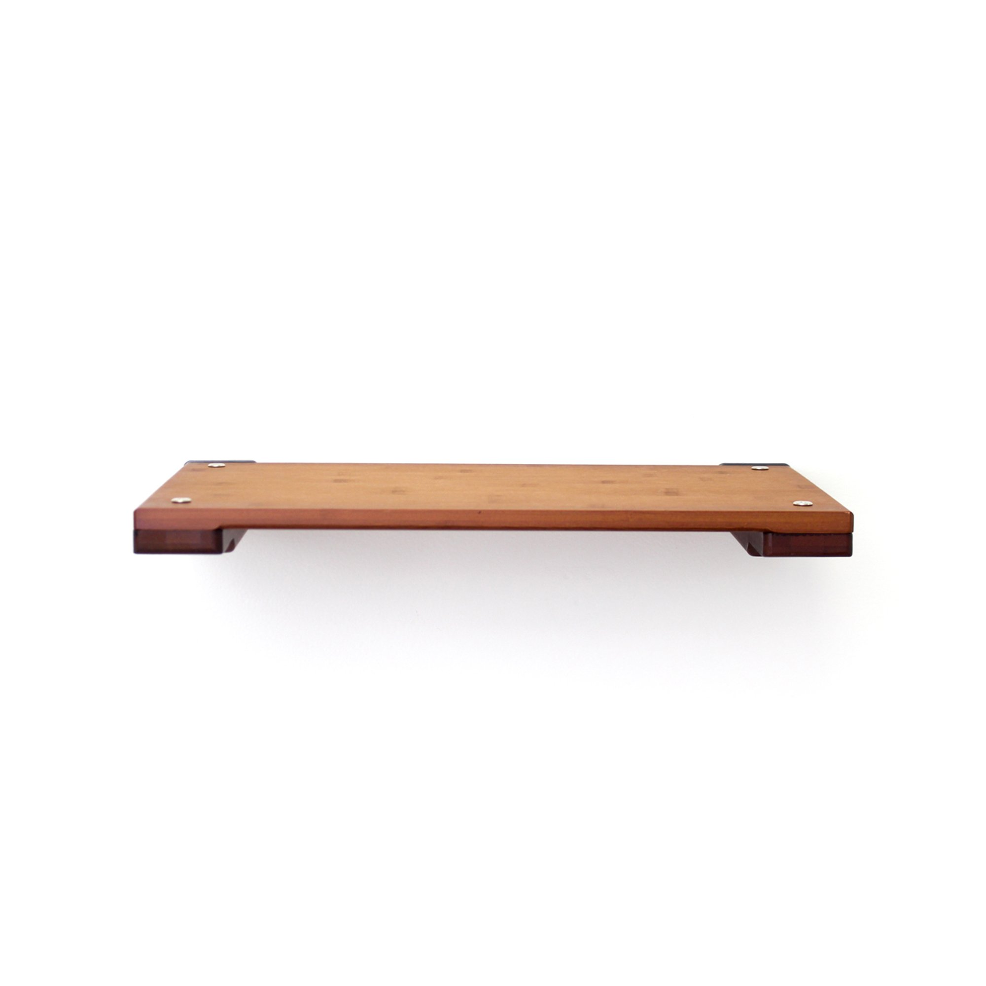 """Catastrophicreations The Cat Mod 18"""" Solid Wood Shelf For Cats In English Chestnut, 18.5 In W X 3 In H, 7 Lb"""