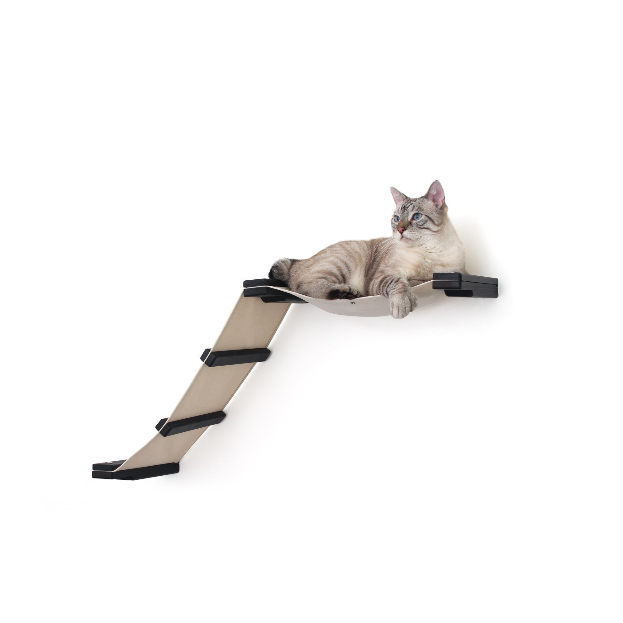 Catastrophicreations The Cat Mod Lift Hammocks For Cats In English Chestnut, 34 In W X 20 In H, 8 Lb