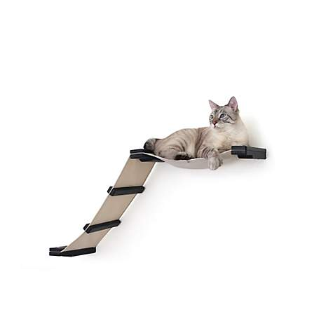 CatastrophiCreations The Cat Mod Lift Hammocks for Cats in English Chestnut