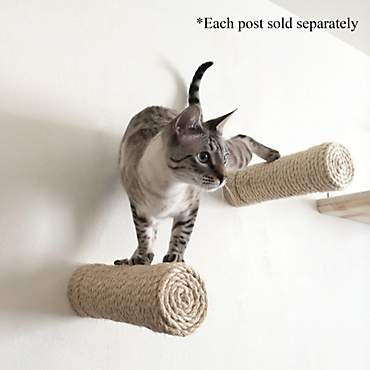 CatastrophiCreations Floating Sisal Post Step for Cats