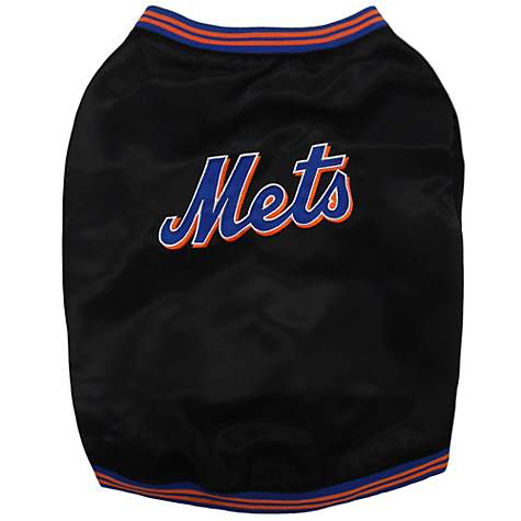 Pets First Official New York Mets Dugout Jacket