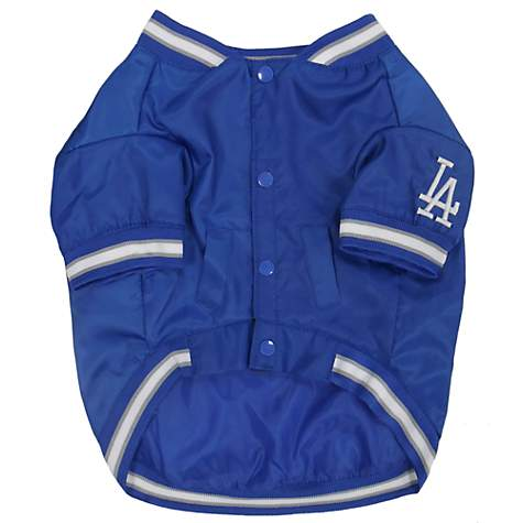 size 40 1345c 1b068 Pets First Official Los Angeles Dodgers Dugout Jacket, Small