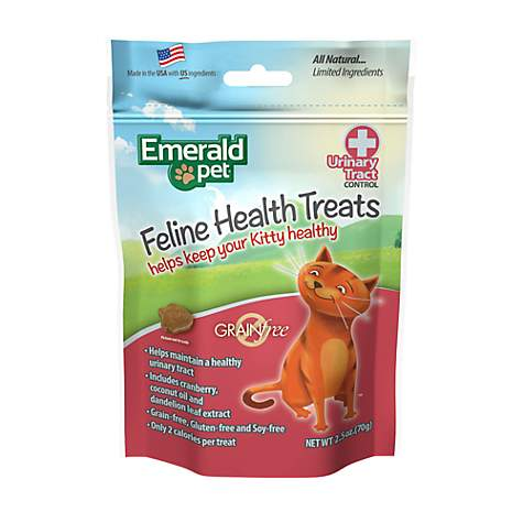 Emerald Pet Feline Urinary Tract Control Treat For Cats