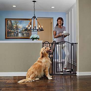 You & Me Extra-Tall Archived Hands Free Pet Gate