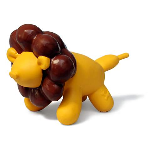Charming Pet Products Latex Balloon Toy Lion