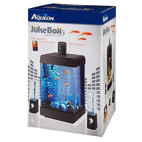 Aqueon Jukebox LED 5 Gallon Aquarium Kit