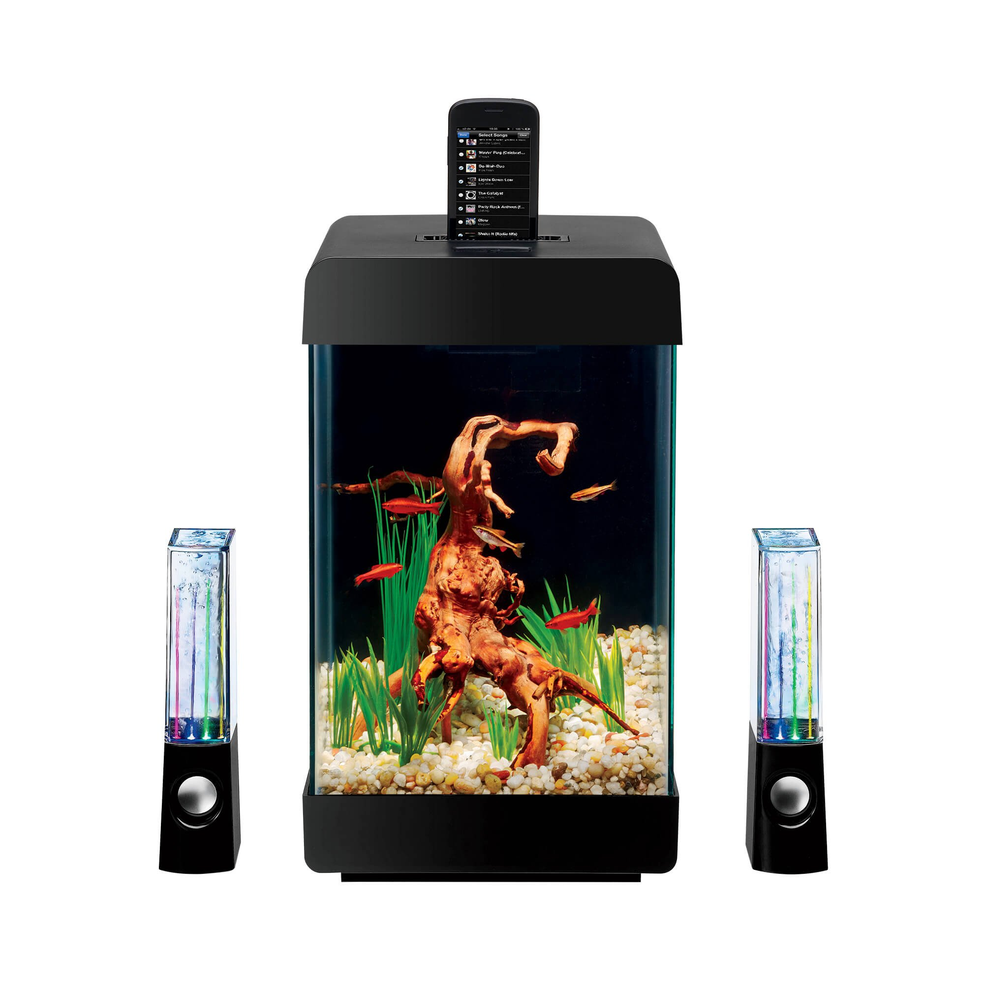 Aqueon Jukebox LED 5 Gallon Aquarium Kit | Petco