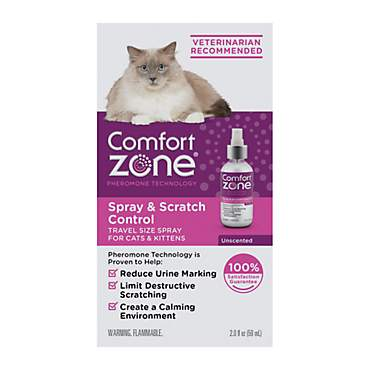 Comfort Zone Spray & Scratch Control Spray for Cat