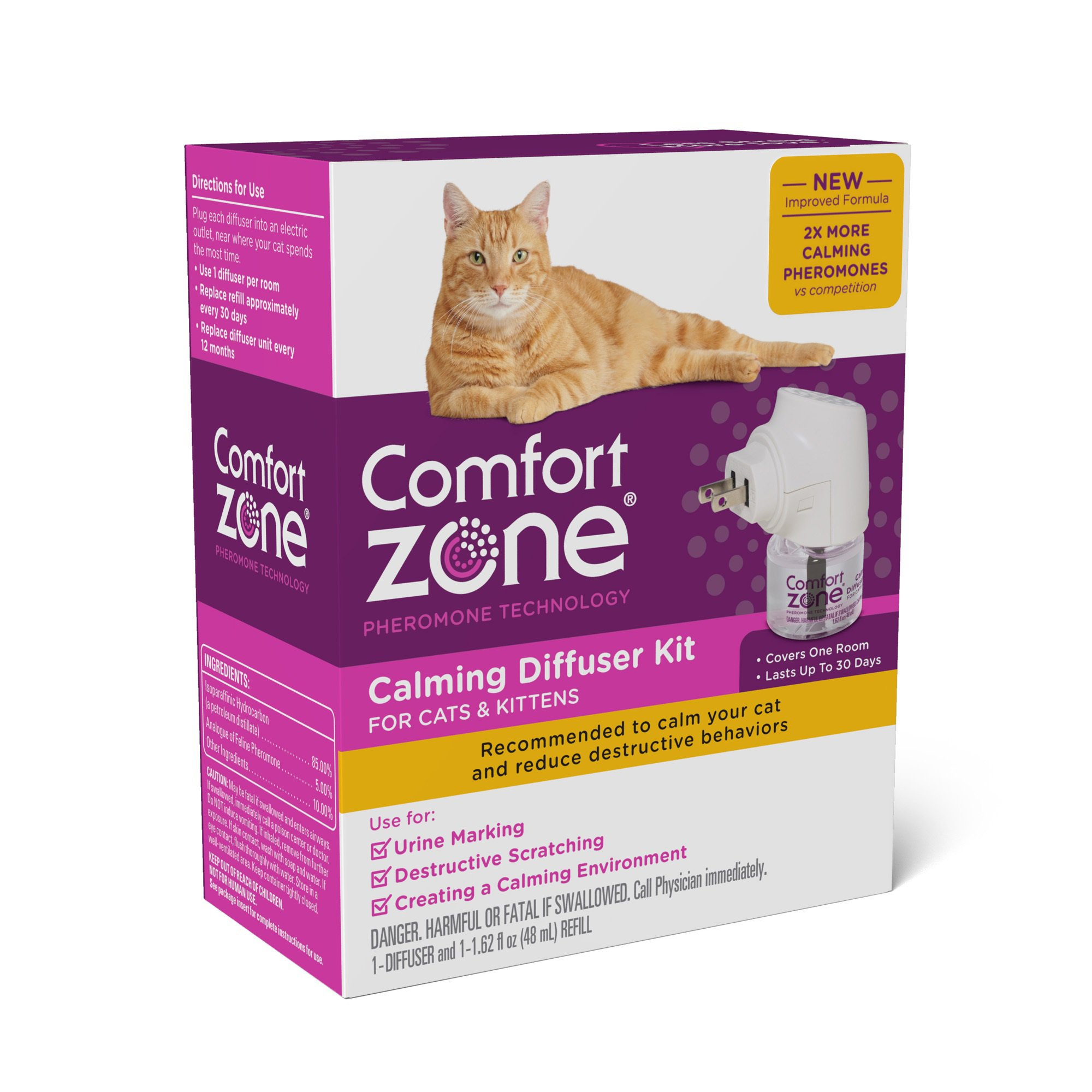 comforter images gallery cats comfort feliway ml pack refill with zone for