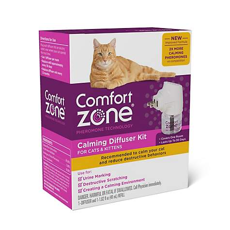 Comfort Zone Calming Diffuser Kit for Cat