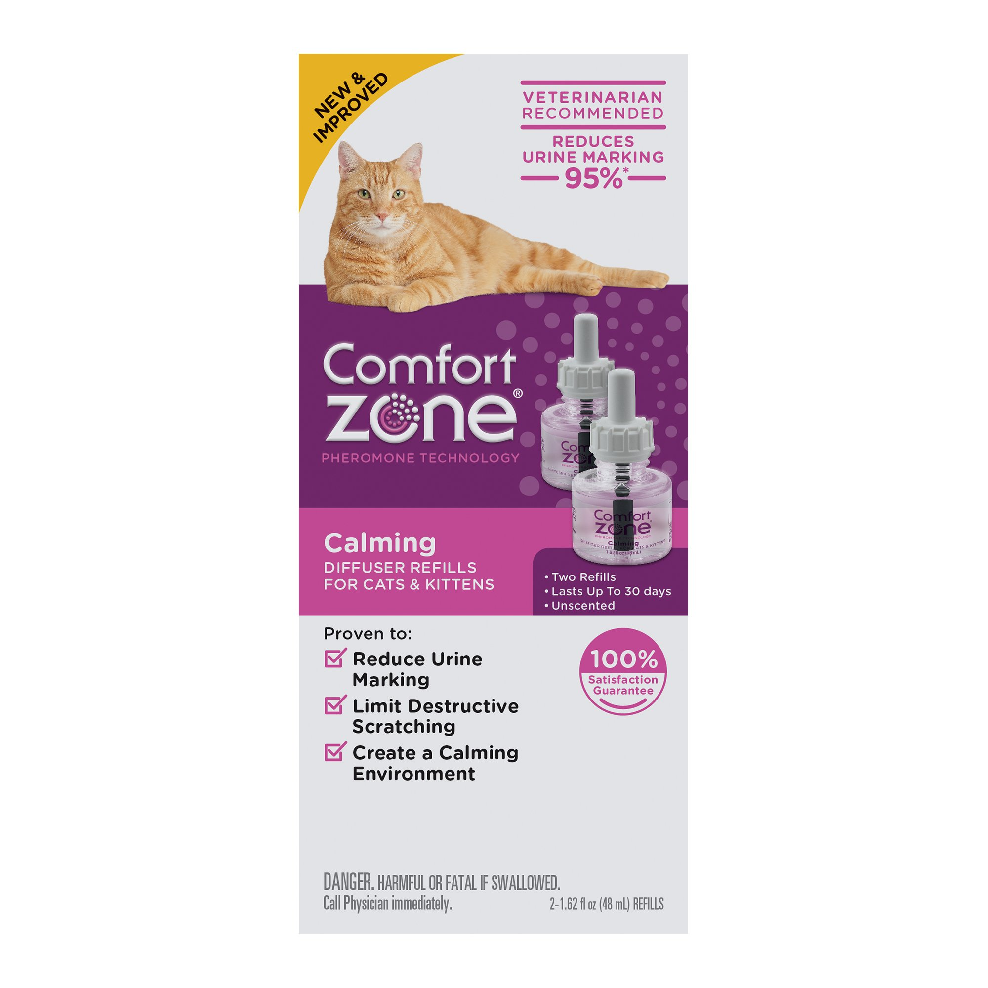 new comforter central introduces goodnewsforpets product press and diffuser release pet zone comfort garden products c shots improved calming