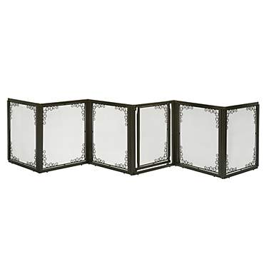 Richell Convertible Elite Mesh Pet Gate 6 Panel