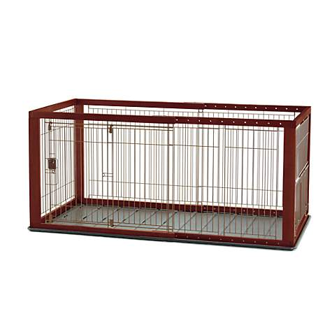 Richell Expandable Pet Crate Petco