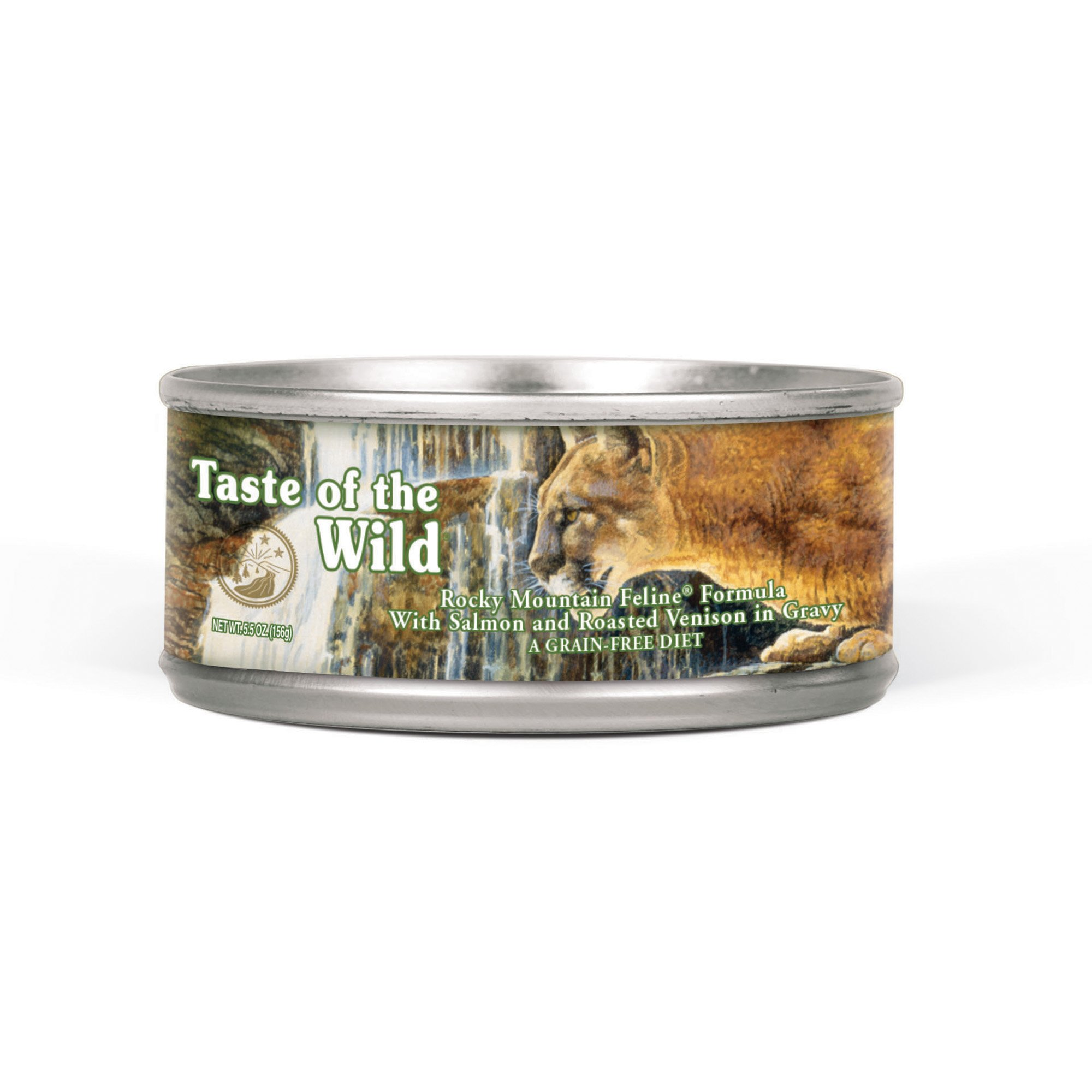 Taste of the Wild Rocky Mountain Grain-Free Roasted Venison & Smoked Salmon Stew Cat Food | Petco | Tuggl