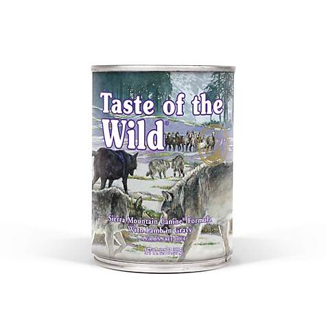 Taste of the Wild Sierra Mountain Grain-Free Roasted Lamb Stew Dog Food
