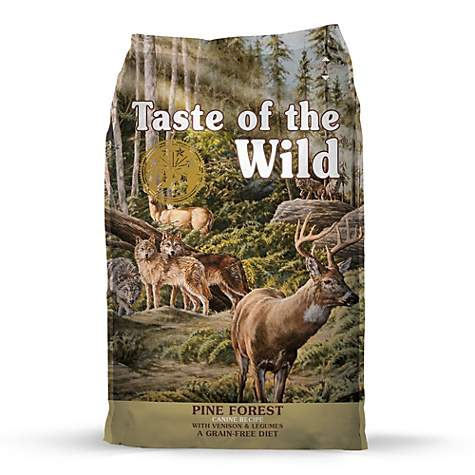 Taste of the Wild Pine Forest Grain-Free Roasted Venison Dry Dog Food