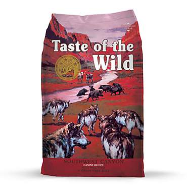 Taste Of The Wild Southwest Canyon Grain Free Dry Dog Food