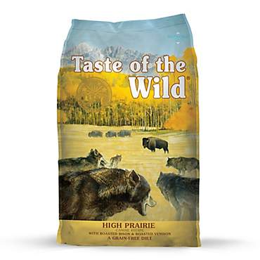 Taste of the Wild High Prairie Grain-Free Roasted Bison & Venison Dry Dog Food