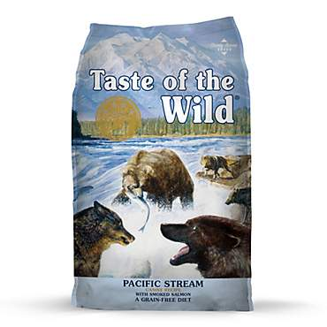 Taste of the Wild Pacific Stream Grain-Free Smoked Salmon Dry Dog Food