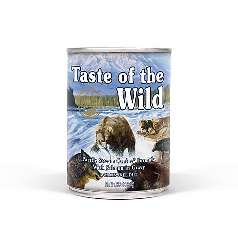 Taste of the Wild Pacific Stream Grain-Free Smoked Salmon Stew Dog Food